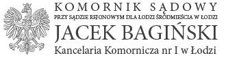 Komornik Jacek Bagiński